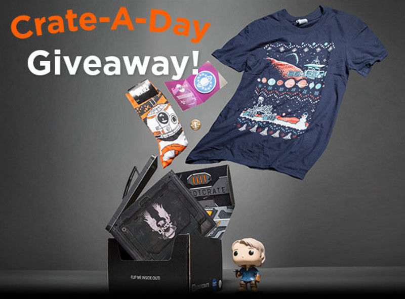 Daily Box Giveaway at Loot Crate!